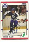 Wendel Clark 2013-14 Score Recollection Collection Autograph Buyback Auto