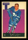 1962-63 Parkhurst Hockey Cards 6