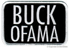 BUCK OFAMA iron on PATCH REPUBLICAN ANTI BARACK OBAMA embroidered TEA PARTY new