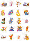 20 Easter Nail Decals  WINNIE THE POOH  FRIENDS Water Slide Nail Art Decals
