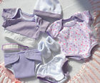 PJs  BERENGUER  LAVENDER CLOTHES LAYETTE  12 14 INCH BABY DOLL OR REBORN