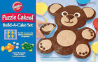 Animal Puzzle Cake Silicone Build A Cake Set from Wilton 9452 NEW