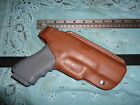 Glock 17 19 22 23 Multi Position Brown Leather Holster