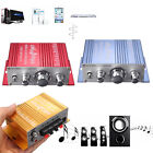 2 Channels Mini Hi-Fi Amplifier Audio Stereo For CD MP3 Car Motorcycle Boat Home