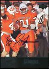 Barry Sanders SP Auto 2011 Upper Deck College Legends Autographs #27 OK State