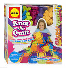 ALEX Toys Craft Knot A Quilt Blanket Making Kit Kids Child Create Throw Knotting