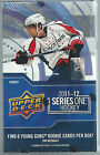 2011-12 Series One Upper Deck NHL Hockey 1 Factory Sealed Hobby Box