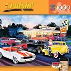 Hot Rods Drive In 1000 Piece Puzzle