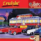 Dinner at the Red Arrow 1000 Piece Puzzle