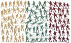 100 pcs Military Plastic Toy Soldiers 5cm Figures Army Men