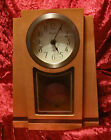 BULOVA SMITHSONIAN MANTEL CL OCK WOOD WITH PENDULUMNEW IN BOX FROM 2005 NEW/BOX