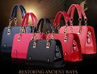 Chic Women's Handbag Tote Purse PU Leather Ladies Messenger Hobo Shoulder Bags