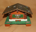 VINTAGE Wood SWISS Chalet House Music Box R.B. Made in SWITZERLAND Travel AS IS!
