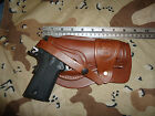 Colt 1911 Leather Holster Wild Bunch Style Field Holster Stamped US