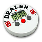 Digital DB2 Poker Dealer Chip Button Tournament Timer Sit N Go FREE SHIPPING