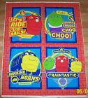 BREWSTER CHUGGINGTON TRAINS PILLOWS OR WALL HANGING FABRIC PANEL