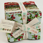 SEASON'S GREETINGS 26 Fat Quarter Bundle + 1 Panel by Sentimental Studios Moda