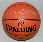 KAREEM ABDUL-JABBAR AUTOGRAPHED SIGNED NBA SPALDING BASKETBALL LAKERS PSA DNA