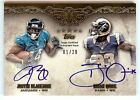 2012 Five Star Justin Blackmon, Brian Quick Dual Rookie Autograph Card 01 20