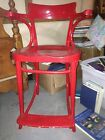 Unusual Vintage Bentwood Chair by Thonet ??? Tall Stool High chair