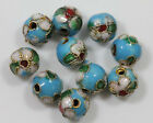 2050pcs Cloisonne Enamel Round Spacer Loose Bead Jewelry Making Diy 68mm