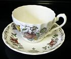 4 CUPS / SAUCER MYOTTS BOUQUET VINTAGE/ ANTIQUE  ENGLAND ARTIST MARK