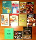 LOT 11 COOKSBOOKS-BARBECUE-MEXICAN-HOME CANNING-DEPRESSION ERA RECIPES-LUNCHEON+