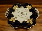 Great antique / vintage porcelain plate / dish  - english gilted numbered 10