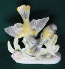Beautiful Fine China Oriole Bird Figurine Two Birds 1707