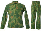 VIETNAM WAR US MITCHELL CAMO UNIFORM P53 FIELD JACKET AND PANTS TROUSER L -33599