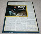 VINTAGE SHAWN CAMP Magazine Article Photo Clipping