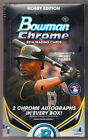 (6) 2014 BOWMAN CHROME BASEBALL HOBBY BOX LOT 1 2 CASE auto rc kris bryant abreu