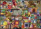 RAVENSBURGER JIGSAW PUZZLE THE CRAFT CUPBOARD COLIN THOMPSON 1000 PCS #19412