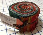 JELLY ROLL~WOODLAND SUMMER  BATIKS~40-2.5