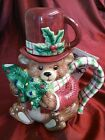 Bear Fitz and Floyd Snack Therapy Cocoa Set / Tea For One Christmas with Box