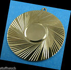 large Blank Disc Charm Vintage 14K Gold 1 size Decorative