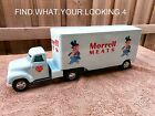 TONKA 1955  MORRELL MEATS  TRUCK AND TRAILER RESTORATION VERY NICE