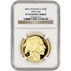 2006 W American Gold Buffalo Proof 1 oz 50 NGC PF70 UCAM