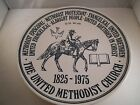 Vintage United Methodist Church Collectible Plate Kettle Springs Kilns Trimble