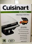 Cuisinart BELGIAN WAFFLE MAKER Stainless WAF-150C Non-Stick Indicator Lights
