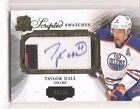 Taylor Hall 2013-14 Upper Deck The Cup Scripted Swatches Patch Auto 3 35
