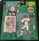 CRIS CARTER 2000-2001 STARTING LINEUP FOOTBALL UNOPENED UNOPENED EXTENDED SERIES