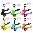 Cute Kid Candy Color Floding With Basket Stability Mini Kick Scooter 3 Wheels US