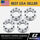 4 Wheel Adapters 5 Lug 45 To 5 Lug 5 Spacers 15 for Jeep JK Wheel on TJ YJ