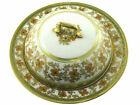 Moriage Nippon Hand Painted RC  Floral  Gold Covered Serving Dish