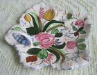 Blue Ridge Southern Potteries Verna Hand Painted Maple Leaf Relish