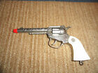 1950'S WYATT EARP DIECAST CAP GUN PISTOL VERY NICE CONDITION