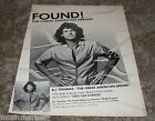 BJ THOMAS Vintage Magazine Promo Photo Ad Clipping