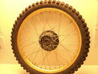 Yamaha IT490 IT 490 #5123 Aluminum Front Wheel & Tire (B)
