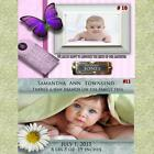 Baby Birth Announcement Cards w Env  Personalized CDs  DVDs NOT a LABEL Custom